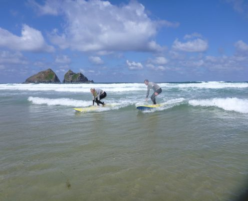 cornwall surf academy at holywell bay