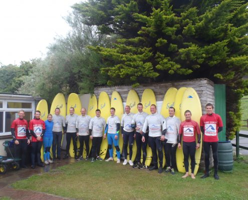 cornwall surf academy coaching the army to surf