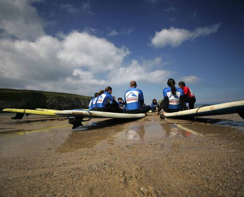 go surfing at cornwall surf academy