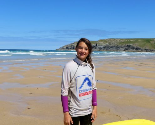 holywell bay surf lessons