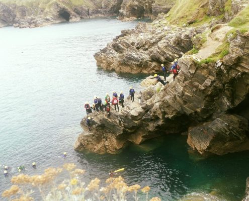 COASTEERING SOUTHWEST UK