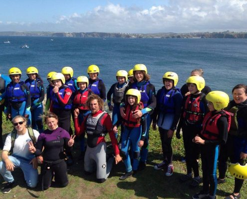 SCHOOLS COASTEER AT CORNWALL SURF ACADEMY